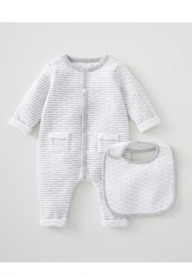 Комбинезон велюровый для новорожденного SC013