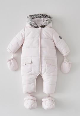 Детский розовый комбинезон SC017