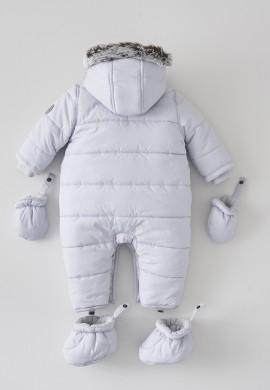 Детский серый комбинезон SC002