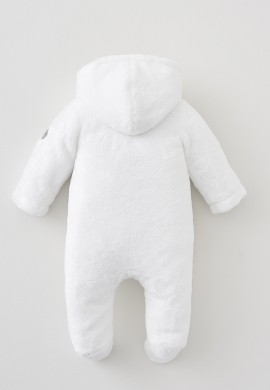 Белый комбинезон для новорожденного унисекс SC003