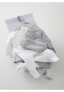 Розкішний подарунковий набір для новонародженого 4в1 (0-3 місяців) SC0035