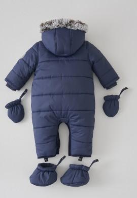 Дитячий синій комбінезон SC024