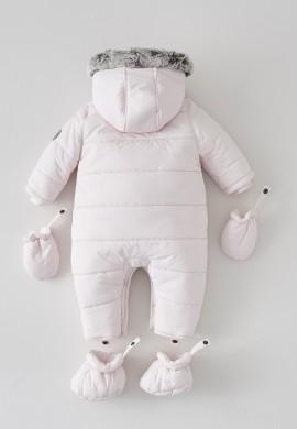 Дитячий рожевий комбінезон SC017