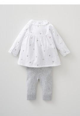 Комплект для новонародженого - блузка та в'язані легінси SC0023
